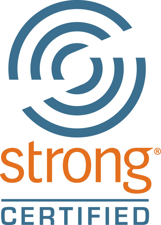 strong certified, strong certification, certified logo strong